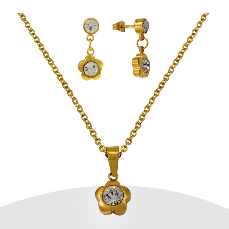 fb920996748f Conjuntos de Joyas de Acero. Joyas de acero  Acero quirurgico y ...
